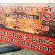 Logo at Bludso's BBQ