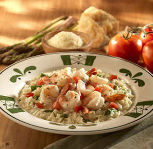 Photo of Shrimp & Asparagus Risotto