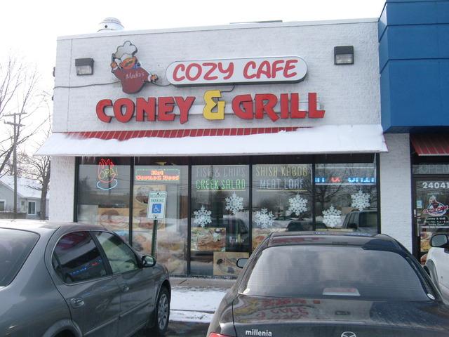 Markos Cozy Cafe Menu