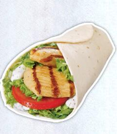 Photo of Grilled Chicken Wrap