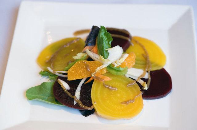 Beet salad at Su Di Noi Ristorante Italiano