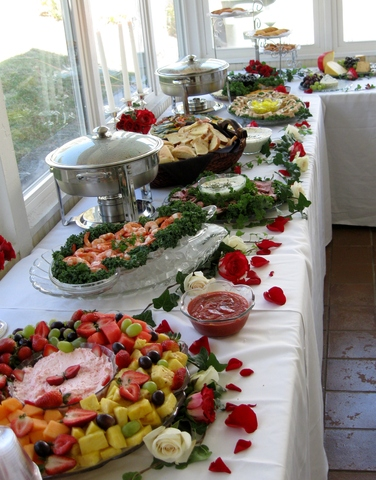 Photo of Finger food buffet
