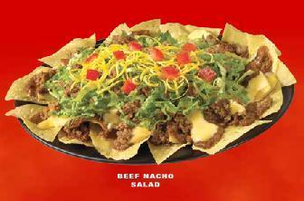 Photo of Beef Nacho Salad, Beef Taco