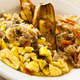 Ackee and Saltfish at De-Jred Fine Jamaican Cuisine