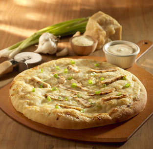 Photo of Chicken Alfredo Pizza