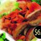 mix - mix lamb & chicken at Mia Halal Food