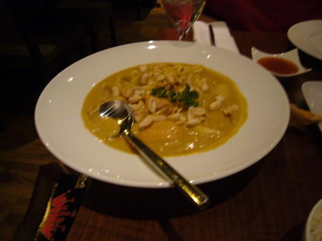 Beef Massaman Curry at Ma & I