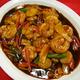 Shrimps with Garlic Sauce at Kum Fong Restaurant