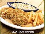 Photo of CRAB CAKE DINNER