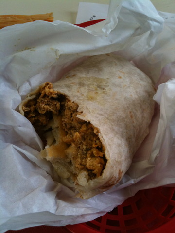 Photo of Breakfast Burrito with Chorizo
