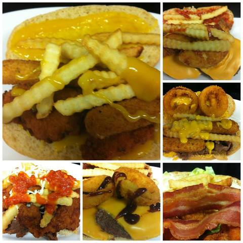 Our fat sandwiches are packed! - Fat Sandwich at Field of Creams Cafe