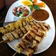 Four-Piece Chicken Satay - Dish at House of Chan Dara