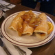 Pigs in a blanket at Chace's Pancake Corral