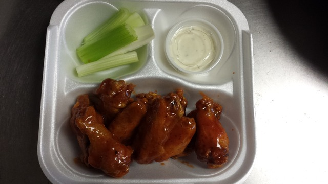 HoneyBBQ Wings! $6.49 - 10pc Wings at B Q Wings