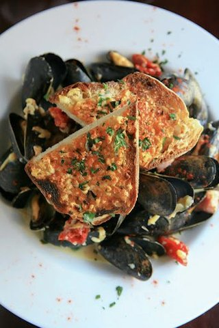 Photo of Lager Steamed Mussels