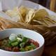 Jerk fire roasted mango salsa and chips - Lion a Roar at Nine Mile