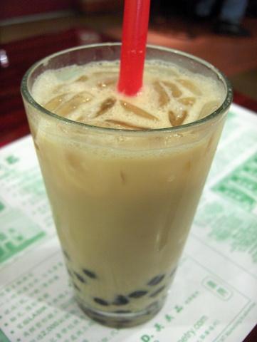 Pearl Milk Tea (Boba) - Tapioca Milk Tea at Tea Station