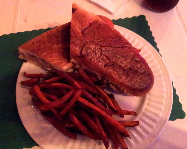 Mmmmmm !!!  (9-2015) - Cuban Sandwich at Red Rooster Inn
