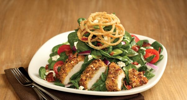 Carino's Italian Grill Copycat Recipes: Pecan Crusted Chicken Salad