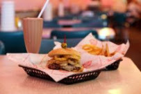 The Semi-Serious Burger at Cheeburger Cheeburger