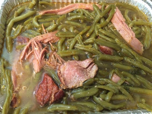 Delicious - Fresh Green Beans at Lisa's Fish & Chips