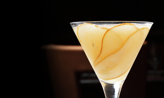 Double Pear Martini at JUST Restaurant