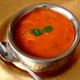 tastes as good as it looks - tomato soup at Namaskaar