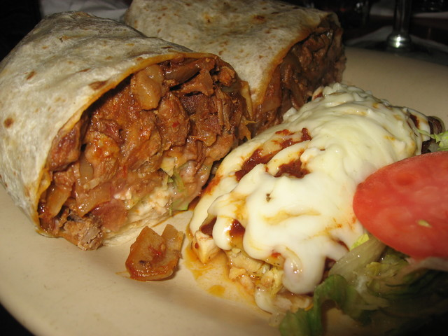 Photo of Burrito al pastor