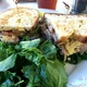 Grilled Turkey and Grafton Cheese Sandwich With an Arugula Salad - Dish at Sweet Butter Kitchen