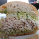 Side View of the Turkey and Guacamole Sandwich - Photo at Sweet Butter Kitchen