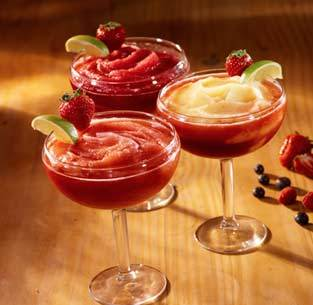 Photo of Frozen Margaritas Strawberry, Wild Berry or Strawberry-Mango