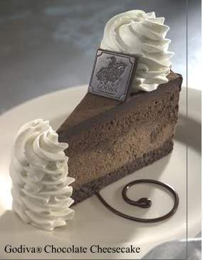 Photo of Godiva Chocolate Cheesecake
