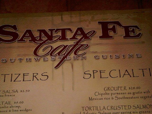 Santa fe cafe reviews menu hilton head island 29928 for Fish head cantina menu