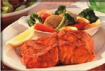 Photo of Fresh Atlantic Grilled Salmon