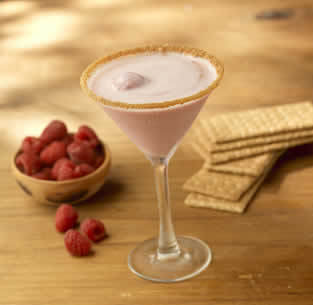 Photo of Raspberry Sorbeto Martini