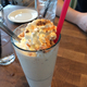 Butterfinger Shake at ZinBurger
