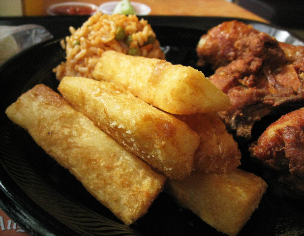 Yuca Fries Yuca fries at pollo campero
