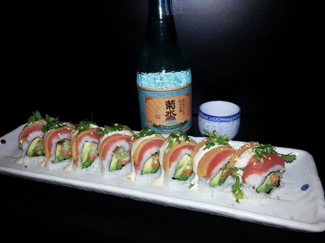 Mmmm mango - Big Ben Roll at Sushi Kawa Sports Bar and Grill