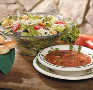 olive garden soup and salad