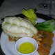 The Australian Lobster tail - Dish at Bohanan's