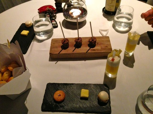 Photo of free food!: assorted mini desserts