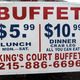 Kings Court Buffet - Wyncote, PA