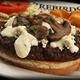 Bleuburger - Dish at Firebird's Wood Fired Grill