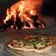 Large Veggie Pizza at Caffe Biu Bella