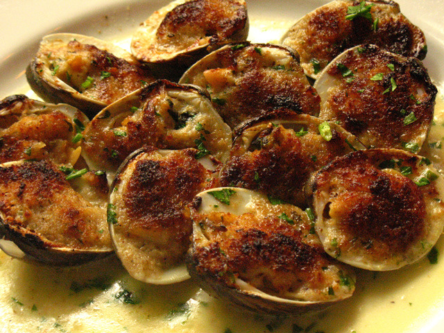 ... to-follow Food Network Baked Clams Oreganata recipe from Anne Burrell
