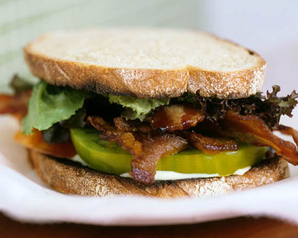 Photo of Bacon, Lettuce and Heirloom Tomato