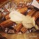 Churro (Mexican donut) #churro #mexican #donut #food #instadaily #happy #dessert #fatlife #summer #s - Churros at La Casita Tacos