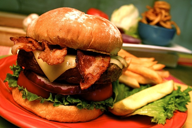 Photo of Legends Bacon Swiss Burger