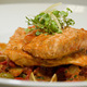 Salmon & Clam Tagine at Saffron Restaurant & Lounge