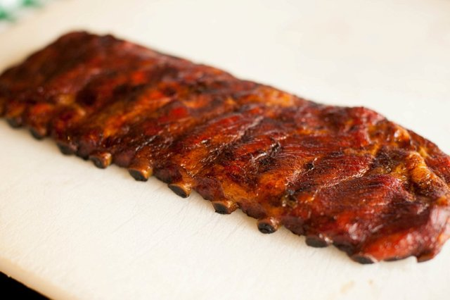 Full Rack of Ribs at Cokers Barbecue